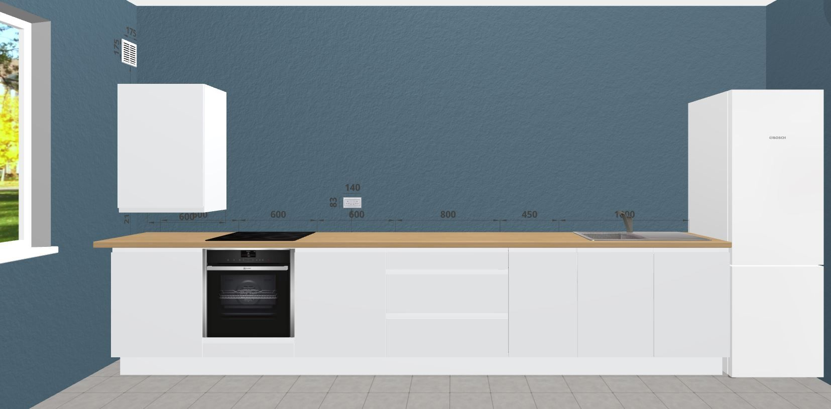 Small Kitchen Idea. The Free 3D Kitchen Planner Can Help You Maximise Your  Space And