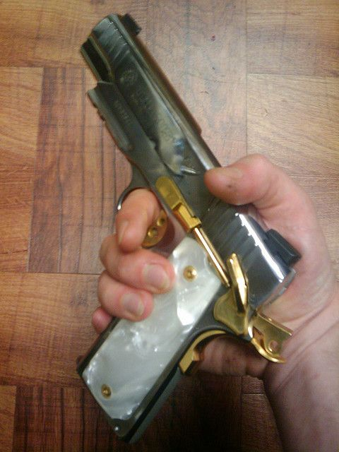 I Want Two Of These Taurus 1911alr 45 Cal Acp Pistol Chrome