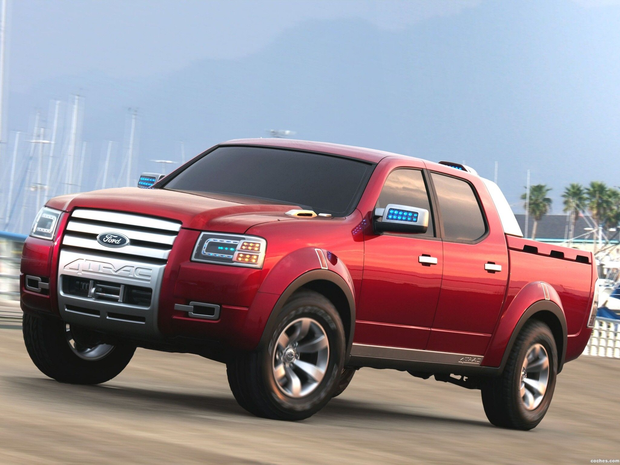 Ford 4Trac Pick Up Concept