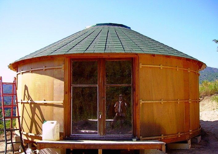 yourte en bois yurtao la voie de la yourte yourtes pinterest yourte bois et maison ronde. Black Bedroom Furniture Sets. Home Design Ideas