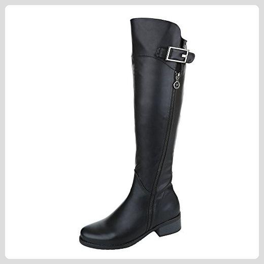 Overknee Stiefel Damen Schuhe Klassischer Stiefel