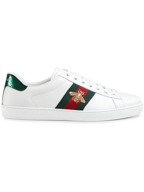 8f36e1fcadb GUCCI Ace Embroidered Low-Top Sneaker. #gucci #shoes #sneaker ...
