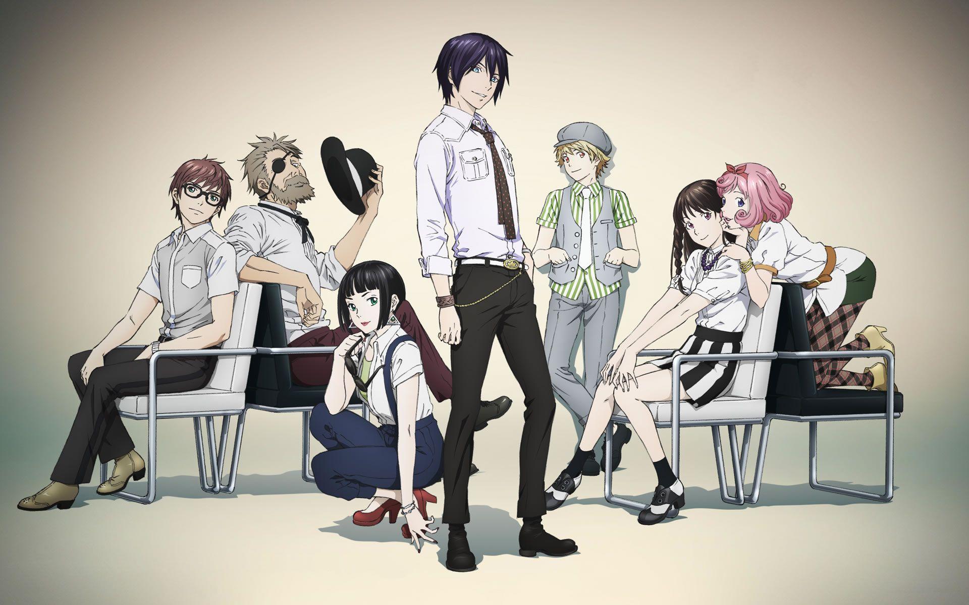 anime and noragami aragoto image | Noragami | Pinterest | Stagioni ...