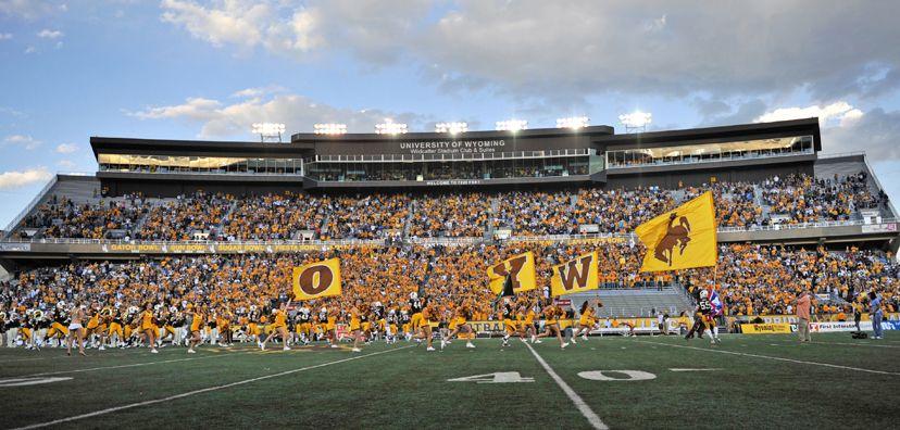War Memorial Stadium Wyoming Cowboys Football Wyoming Cowboys