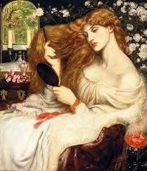A Victorian Art piece that depicts a woman showing an idea of what beuty was in the past, it makes me wonder if people in this society see art like this as rubbish