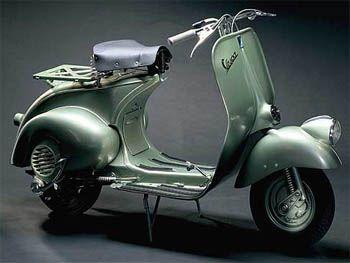 Vespa - I really do want one.