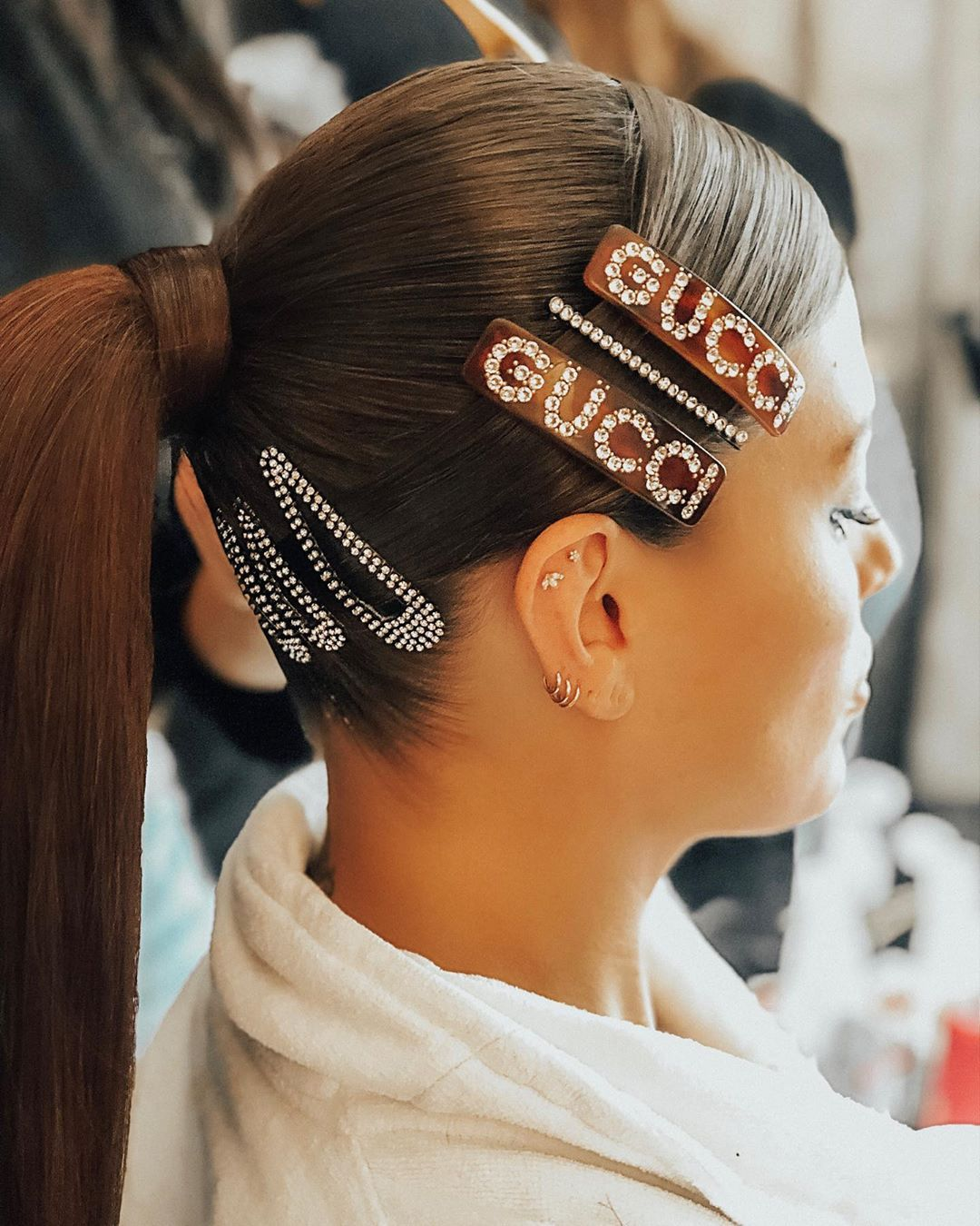 Image result for Ashley Graham hair clip