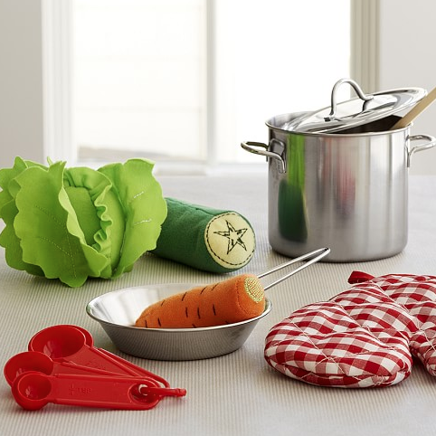 Birthday Gifts For 3 Year Olds Cooking Set Pottery Barn