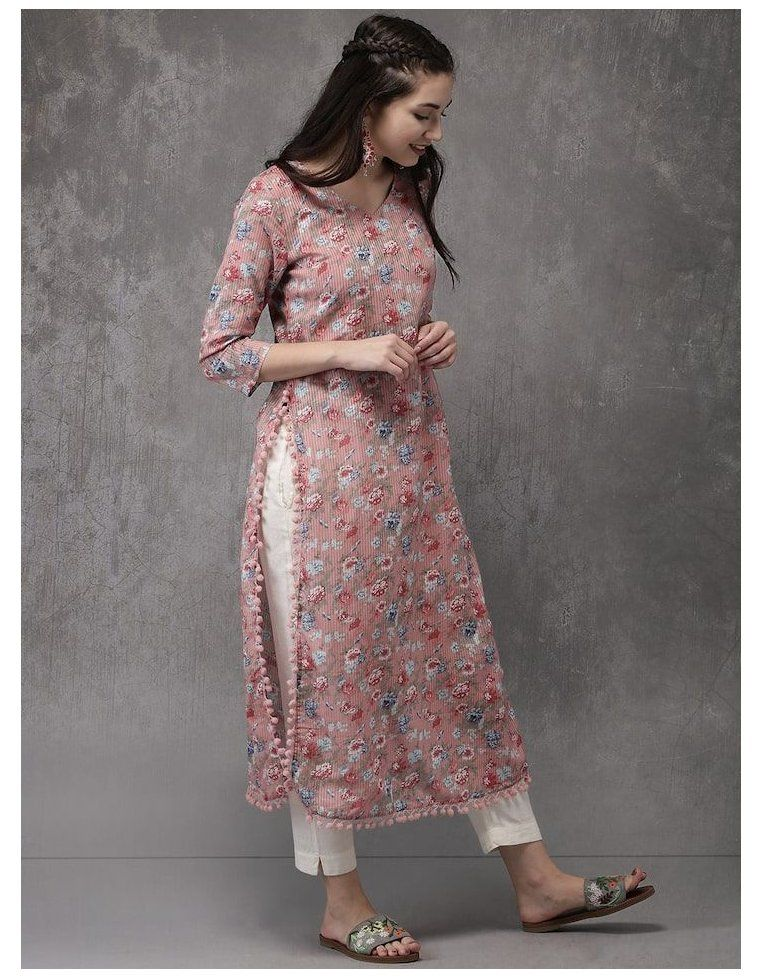 simple kurti designs casual
