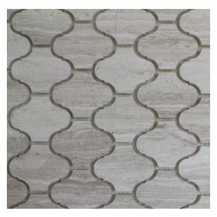 Gl Stone Marble Lantern Shaped Mosaic Tile 11 0 X Wooden Grey 1 Carton 15 Shee Arabesque Comes With Polished Surface And