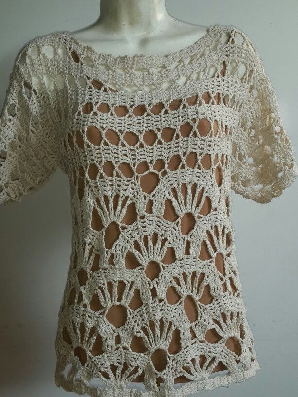 Suéter en crochet | mis creaciones en crochet | Pinterest | Tuniken ...