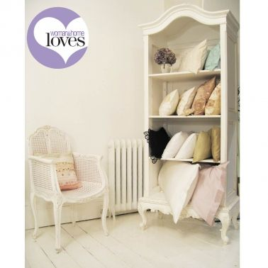 Provencal Antique White Baby Showcase by The French Bedroom Company