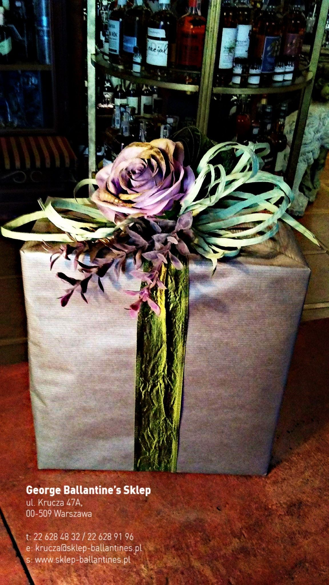 Gift Handmade Diy Flower Box With Images Prezent Alkohol