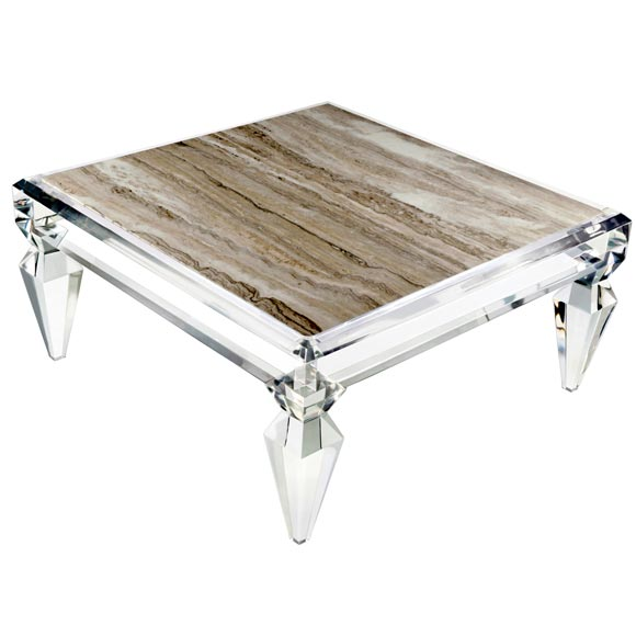 Lucite Coffee Table.Avenire Lucite Coffee Table By Craig Van Den Brulle For The Home
