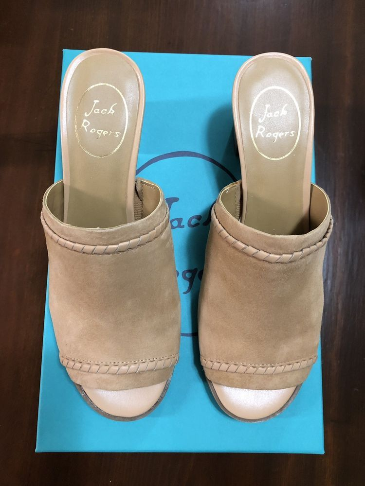 aeea1a65146 Jack Rogers Campbell Suede Mules - 7.5M - NEW  fashion  clothing  shoes   accessories  womensshoes  heels (ebay link)