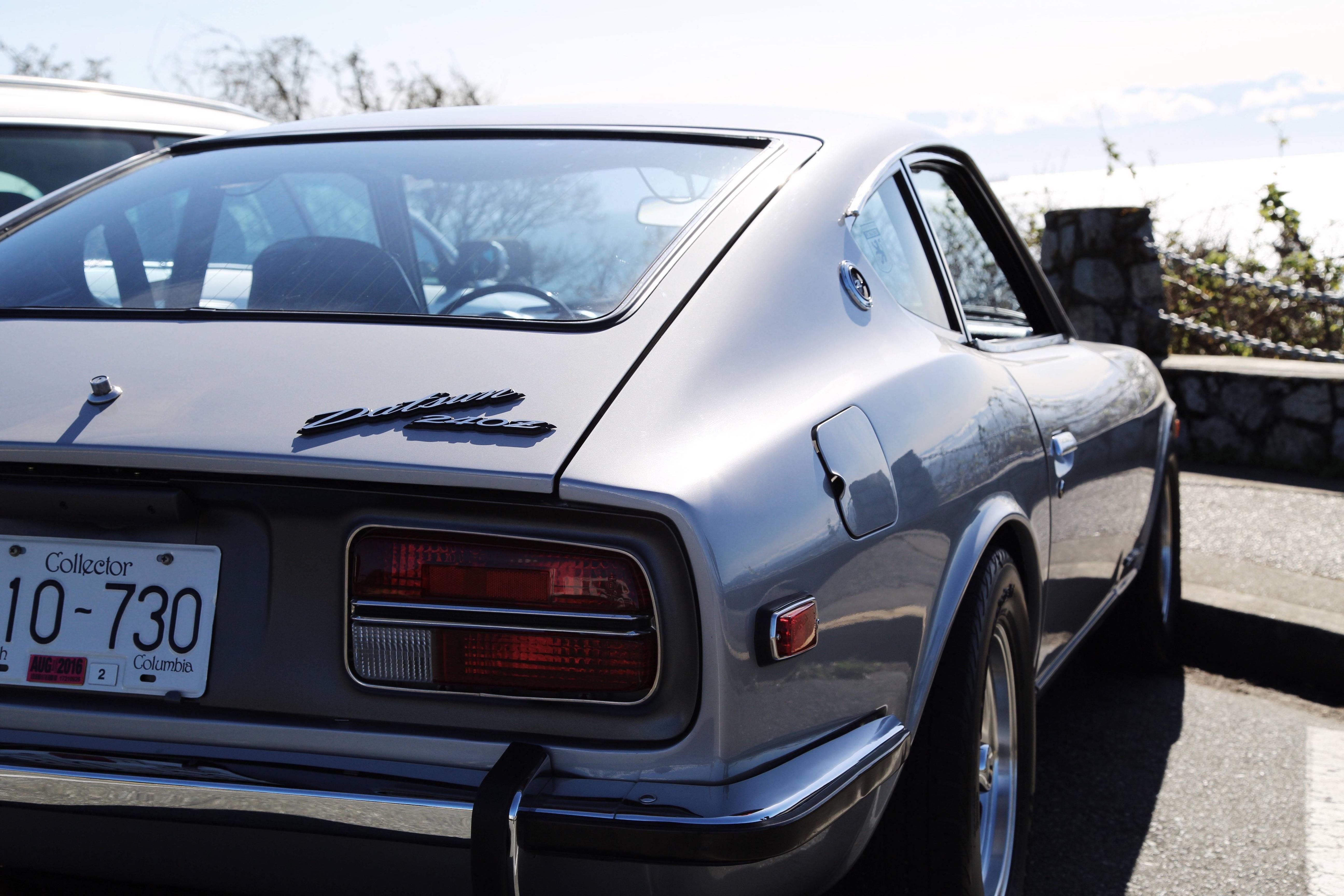 Rear End Of A Datsun 240z HD Wallpaper From Gallsourcecom HD Car