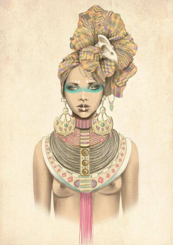 Illustration Q Of Clubs By Marisa Jimenez LIMITED EDITION 1 50