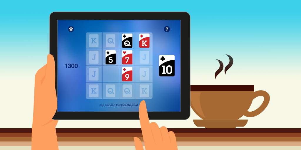 Royal Edge Solitaire for iPhone and iPad Solitaire card