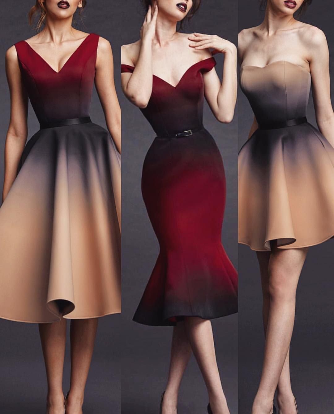 Poem ombre dres couture in pinterest fashion dresses and