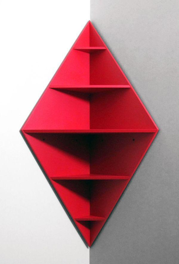 Wonderful Core Deco Diamond Corner Shelf Home Chunk Nice Look
