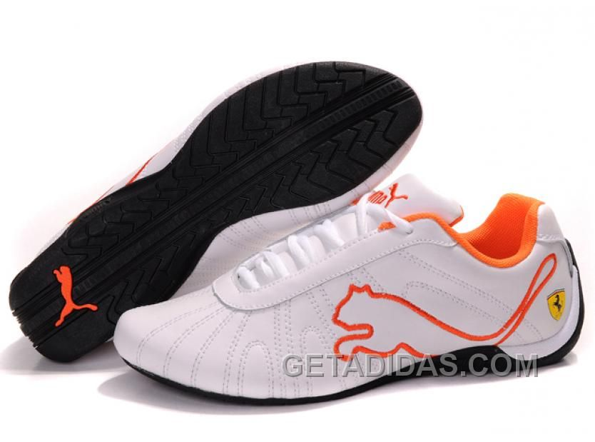 Mens Puma Speed Cat Big White Orange Black Authentic, Price: $74.00 -  Adidas Shoes,Adidas Nmd,Superstar,Originals