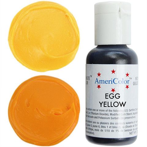 Egg Yellow Gel Paste Food Coloring from Layer Cake Shop! Superior ...
