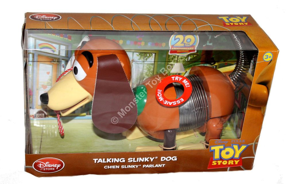 Disney Store 20th Anniversary Talking Slinky Dog From Toy Story