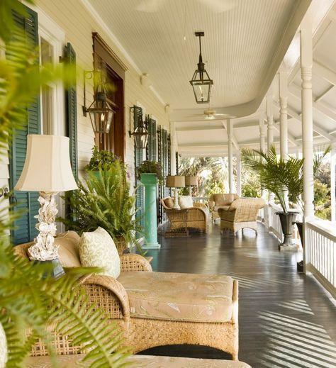 I Love this Porch~Donnine~ Sur le Porche Pinterest Balcones