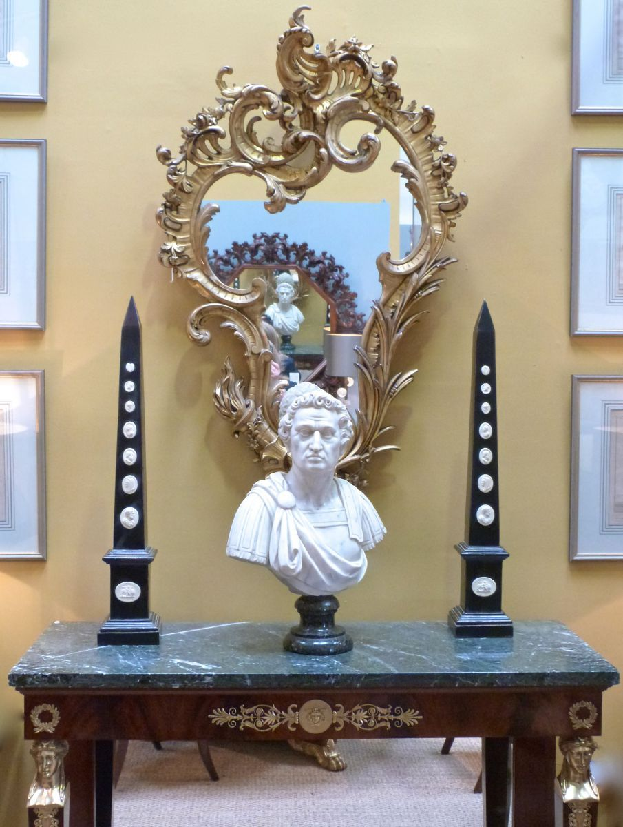 obelisk furniture. A Pair Of Decorative Grand Tour Style Obelisk Ornaments - Stock Blanchard Collective | Antiques Furniture