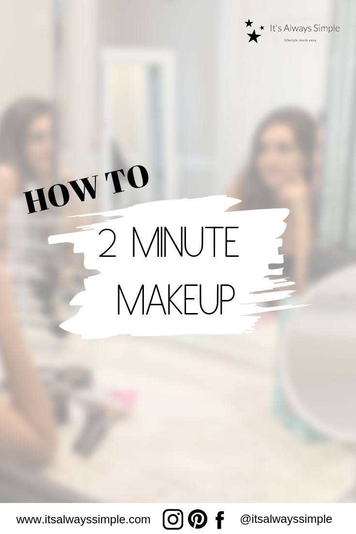 Pin by It's Always Simple on DIY Putting on makeup, Simple