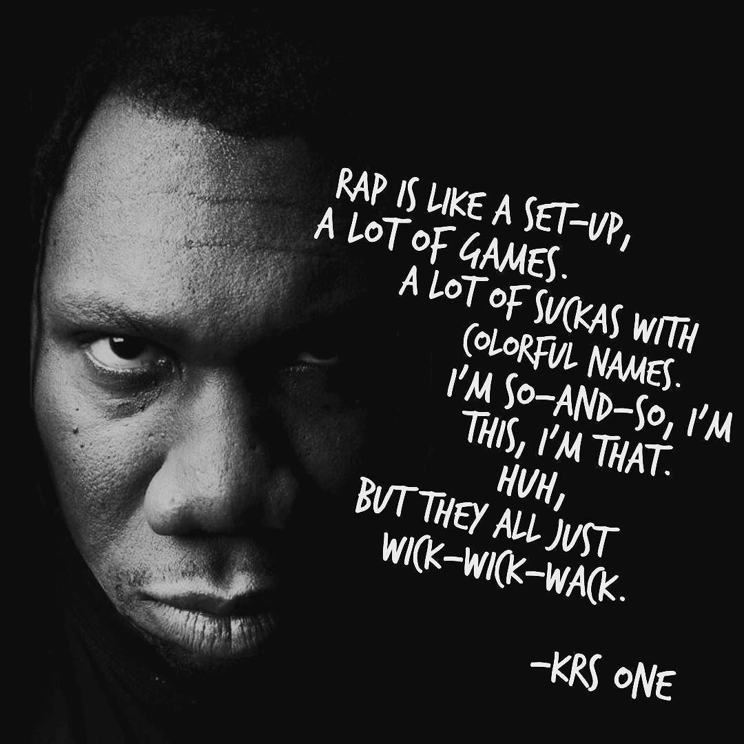 KRS,1 365 Days of Real Hip Hop Day 2 quote quotes