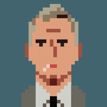 MAD PIXEL MEN by Juan Ferrer, via Behance