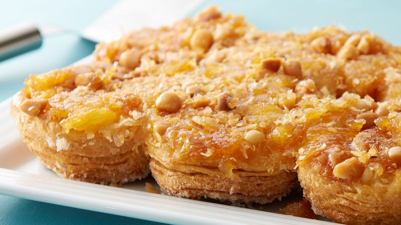 Tropical Sweet Hawaiian Sticky Biscuits Recipe Biscuit Recipe Baking Dessert Recipes