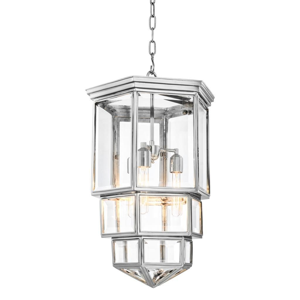 Eichholtz pacifico lantern silver lanterns nickel finish and chandeliers arubaitofo Gallery