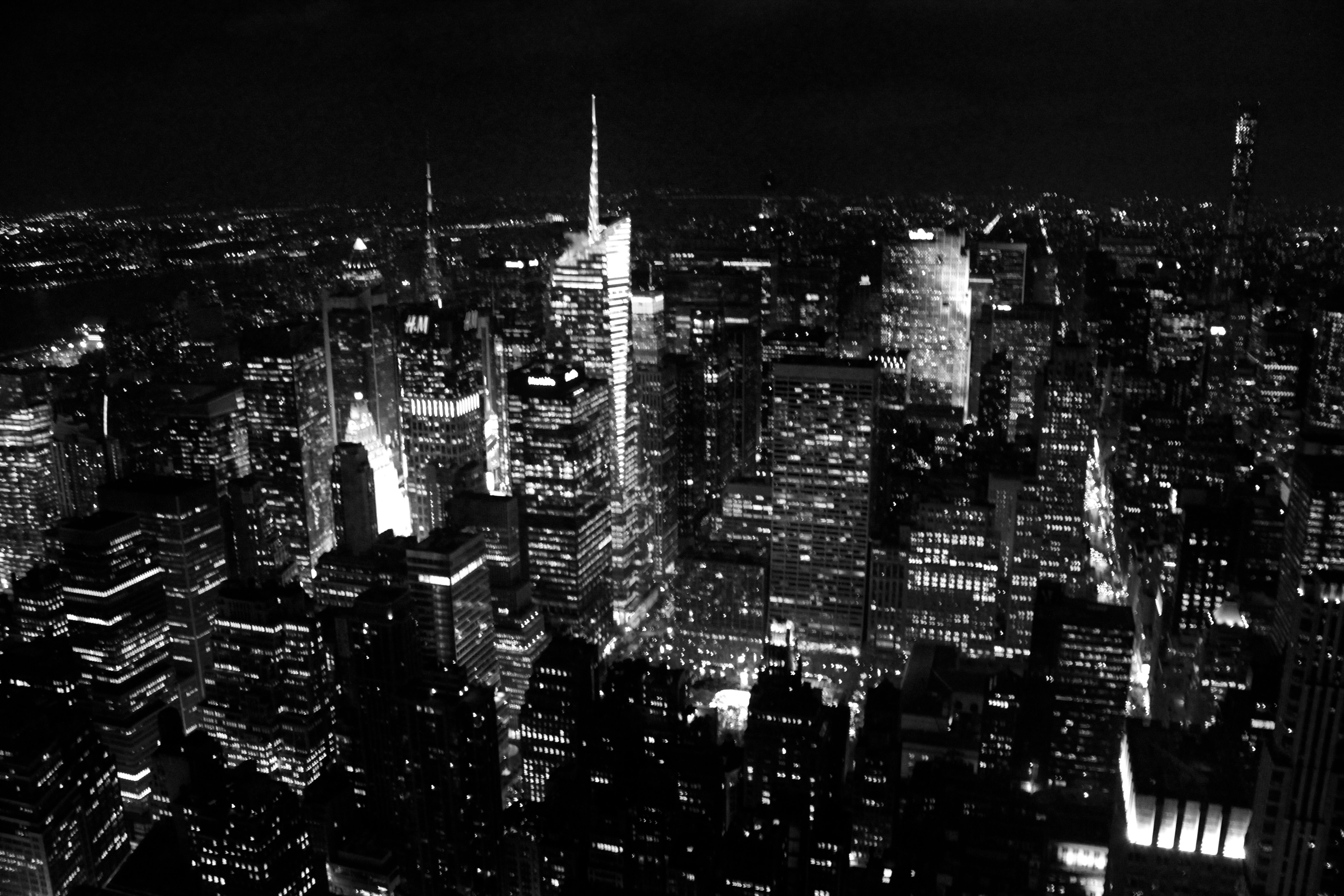 New York City in December 2000 for school This was the view I got