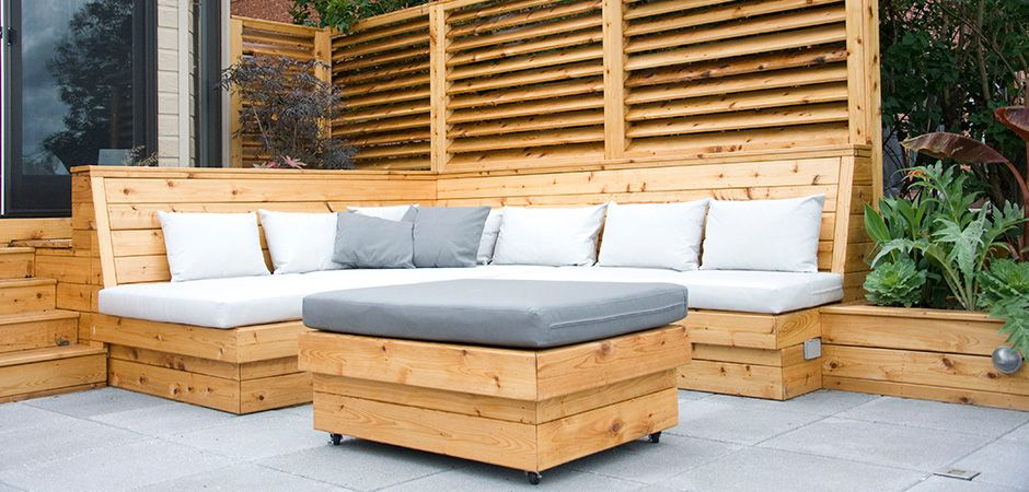 Modern Decking Montreal Montreal Outdoor Living Modern Outdoor Seating Patio Seating Outdoor Living
