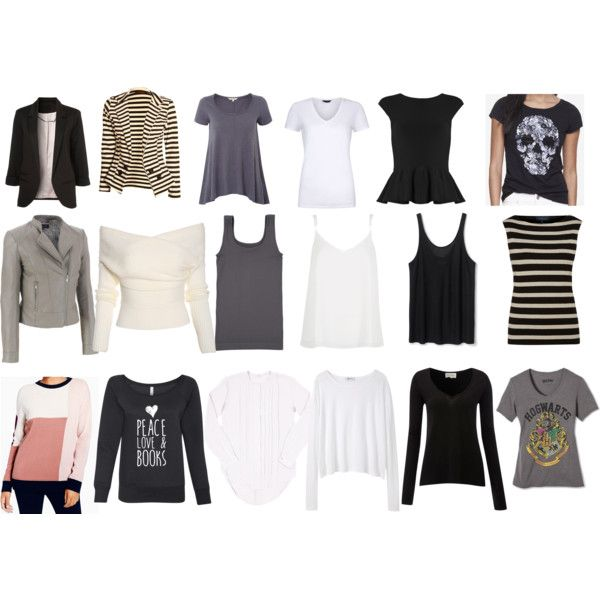 Capsule Tops/Outerwear by shetravelslight on Polyvore