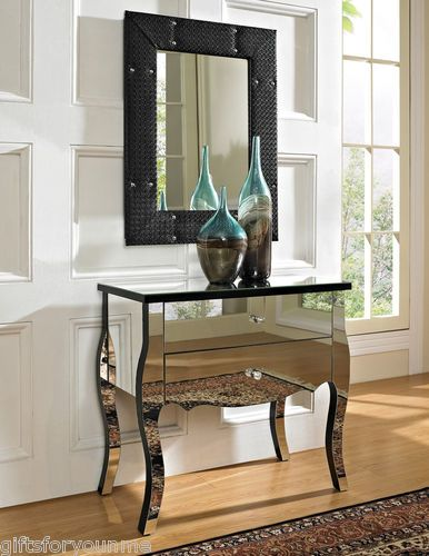 Hollywood Regency Mirrored Furniture