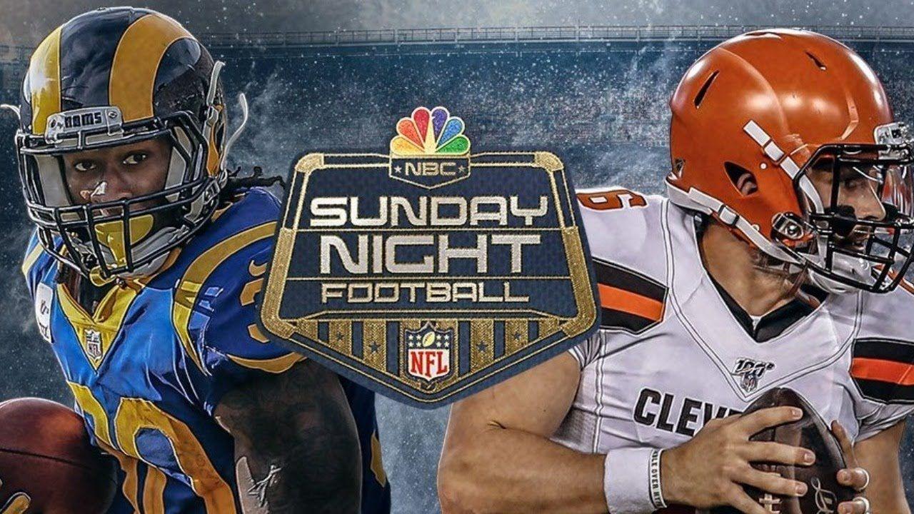 SNF Rams Browns LIVE Sunday night football, Football