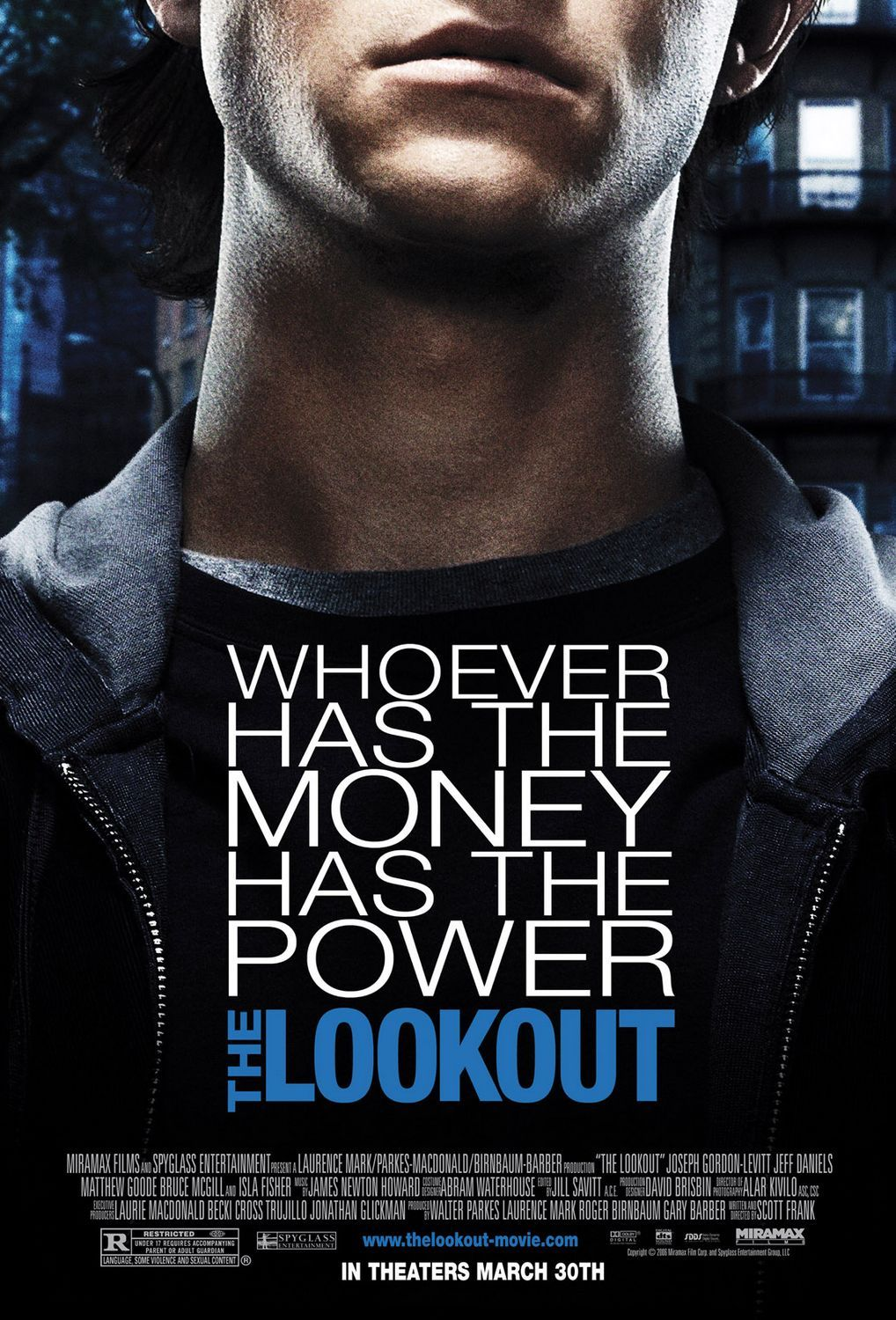 The Lookout (2007.) Movie posters, About time movie, I movie