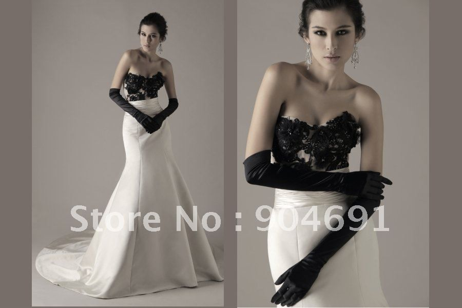 Black And Ivory Wedding Dress | Good Dresses