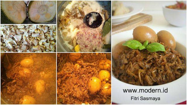 Resep Gudeg Khas Jogja Tanpa Pewarna Tambahan Malaysian Food Recipes Food