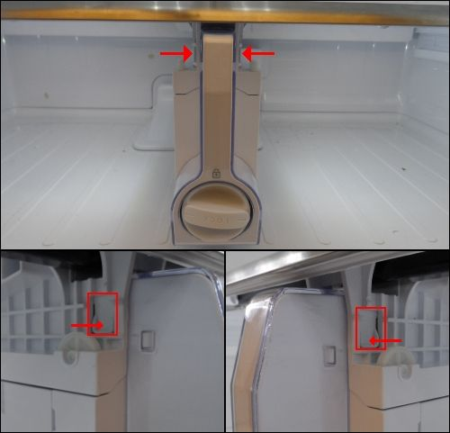 How To Remove And Clean The Glass Shelf Above The Crisper Drawers In The French Door Refrigerator Samsung Refrigerator Glass Shelves Glass Refrigerator