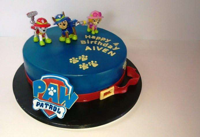 Paw Patrol Kuchen Motivtorte Tutorial Die Torte Paw Patrol Kuchen Motivtorten Torte 1 Geburtstag