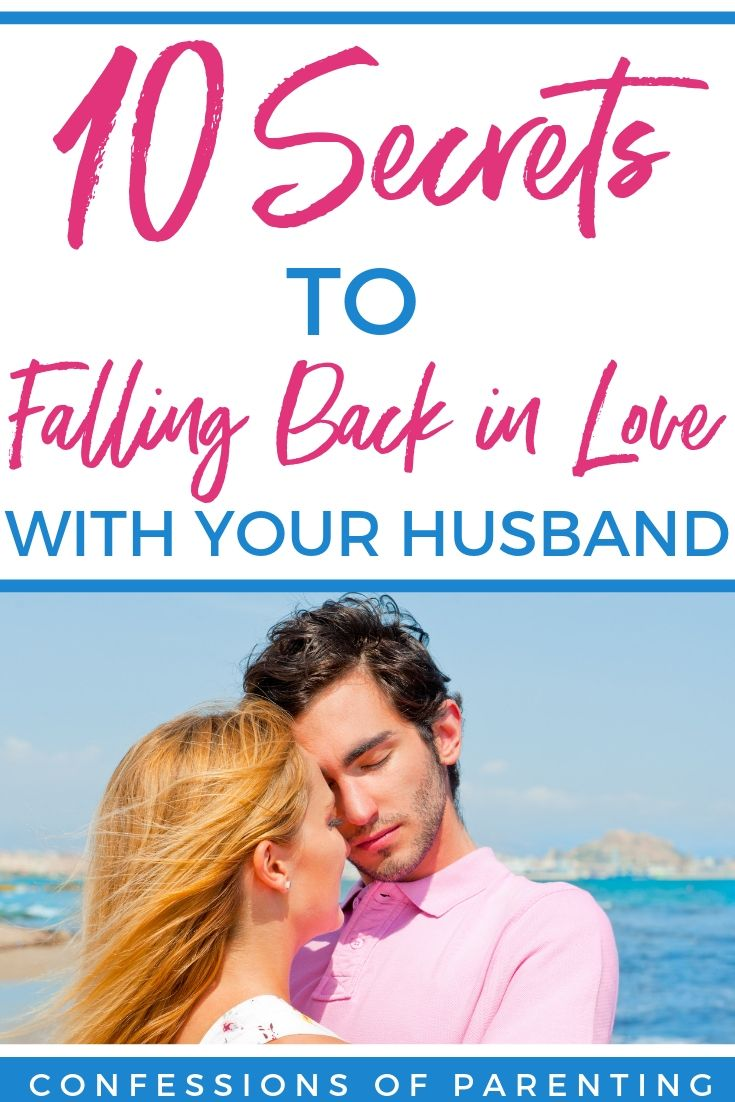 how to fall in love again with your spouse