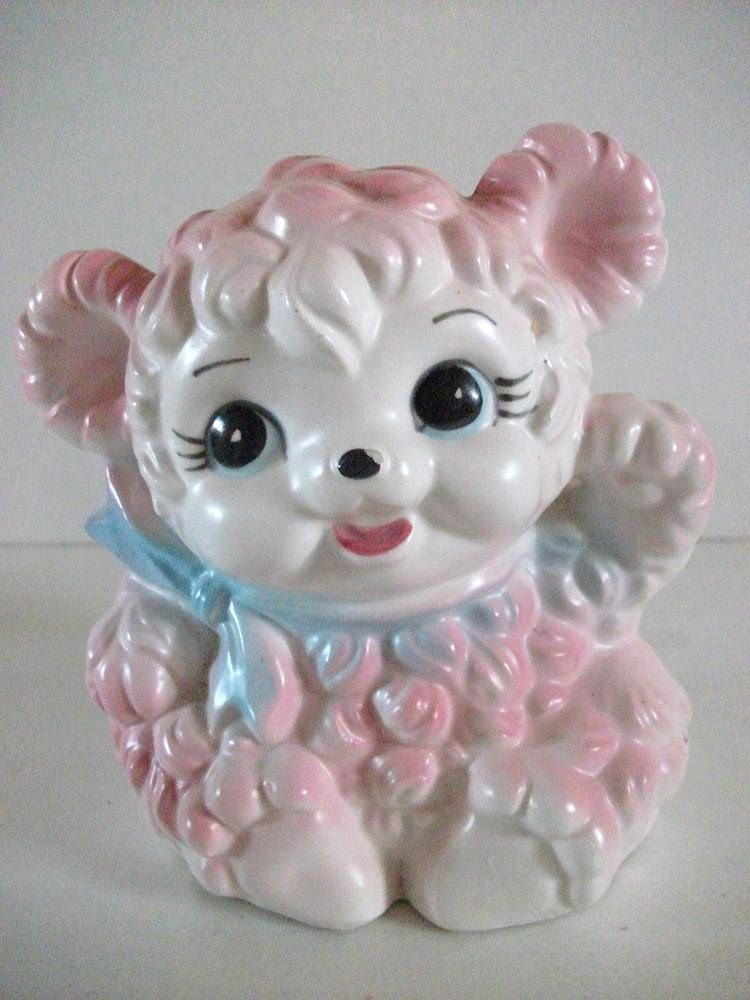 Vintage Pink Baby Planter