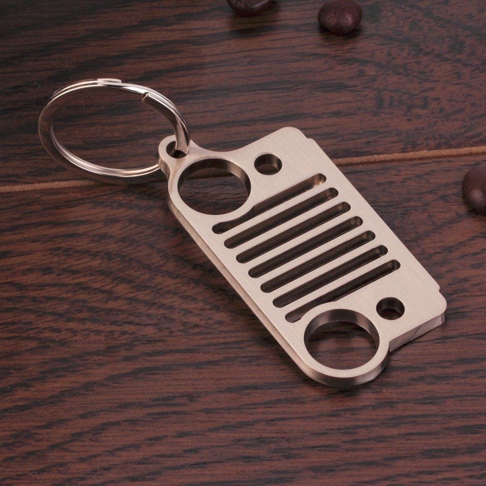Couple Jeep Grill Keychain Bottle Opener Jeep Keychain Perfect