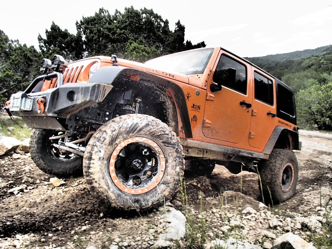 "My 2012 Orange Crush JK ""Julius"" Monster trucks, Jeep"
