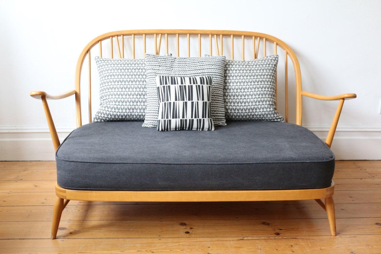 Sold Vintage Ercol Windsor Two Seater Sofa Ercol Furniture Retro Bedroom Furniture Ercol Sofa
