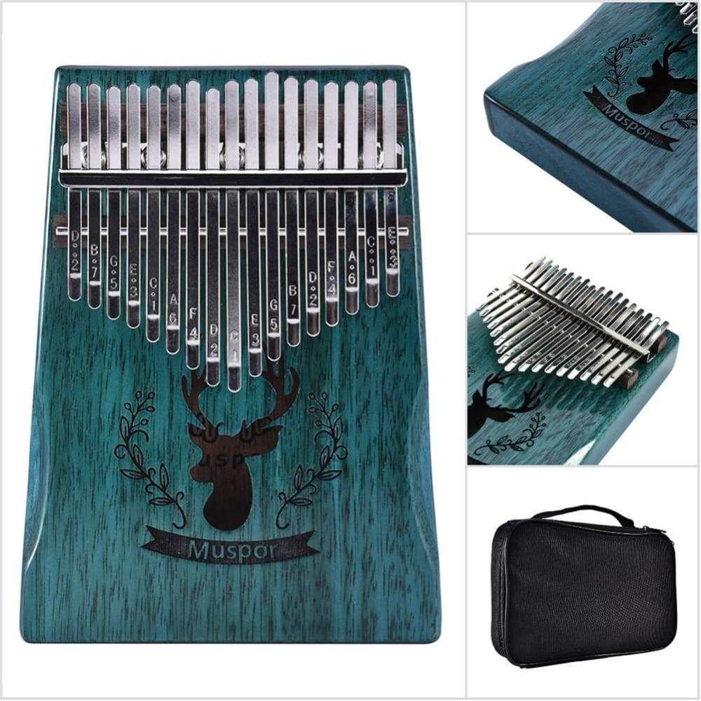 17 keys thumb piano finger reindeer blue in 2020 easy